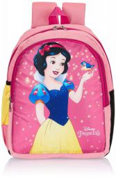Priority Disney Snow White 20 litres Pink Polyester Kids School Bag