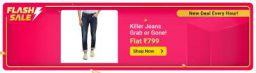 Killer Jeans Grab Or Gone Flat Rs.799