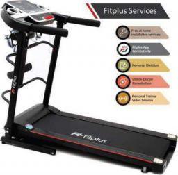 Fitplus FSRM0701M (2HP Peak Power) Massager,Easy Lubrication with Free Diet Plan, Trainer & Installation Services Treadmill