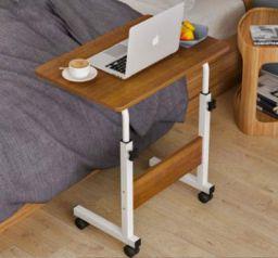Furn Master Wood Portable Laptop Table (Finish Color - Dark Brown)