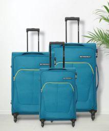 Metronaut Soft Body Set of 3 Luggage - Supreme Combo Set (30inch+26inch+22inch)