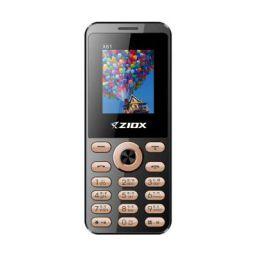 "ZIOX X61 with Vibration 1.8"" Display Wireless FM 1000 mAh Battery (Black,Gold)"
