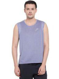 SG Polyester T.Vest Men V3-Blue Grey XXL, XXL (Blue)