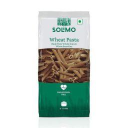 Amazon Brand - Solimo Whole Durum Wheat Penne Pasta, 500g