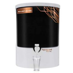 Aquaguard Marvel RO+Advanced Virus Filter+Active Copper+Mineral Guard Technology (8L) Water Purifier from Eureka Forbes (White & Black)