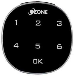 Ozone Metal Smart Furniture Lock Ozfl-401-Pw (Black)
