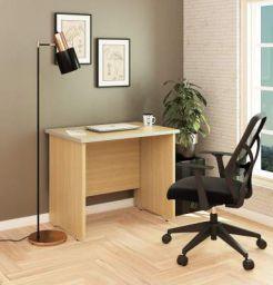 SOS SpacewoodLiteOffice Multi Desk Home and Office Table (Urban Teak)