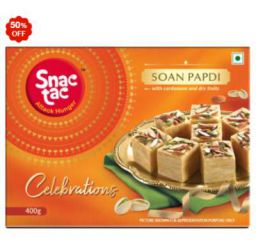 Snactac Celebrations Soan Papdi 400 g