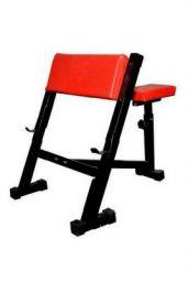 Spiro 185 Kg. Holding Capacity Preacher Curl Arm Exercises Bench