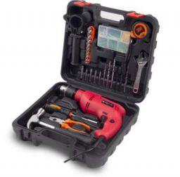 Buildskill Pro BGSB13RE 13MM Impact Drill Kit with 130 pcs Accessories Power & Hand Tool Kit  (130 Tools)