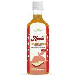Neuherbs Apple Cider Vinegar with Mother Vinegar Raw Unfiltered and Undiluted - 350 ml