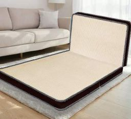 Comforto Folding Foam Mattress - Single Size (72 x 36 x 4 Inches, Beige)