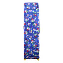 Vouch Plastic Foldable Wardrobe Organizer, D1, 7 Shelves, Blue