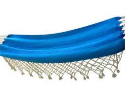 Hangit Cotton Hammock (Ocean Blue, 320 Centimeters)