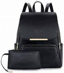 GWAT girl-s-synthetic-shoulder-bag-original Waterproof Backpack (Black 2 L)