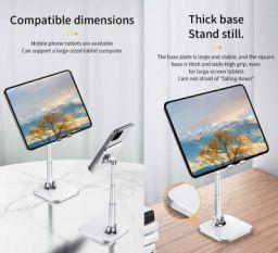 Dyazo Adjustable Portable Foldable Tablet Stand & Mobile Stand