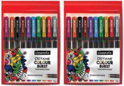 Classmate Octane colourburst Gel Pen (Pack of 20)