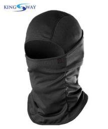 Kingsway kkmfmdbl0034 Full Face Mask/Balaclava for Men and Women (Size : XL, Black)