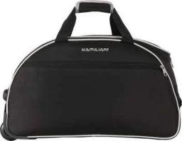 KAMILIANT by AMERICAN TOURISTER KAM ALPS WHD 62cm - BLACK Duffel Strolley Bag (Black)