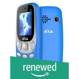 (Renewed) Aqua J3 (1.8 inch Display, 1000 Mah Battery, Blue)