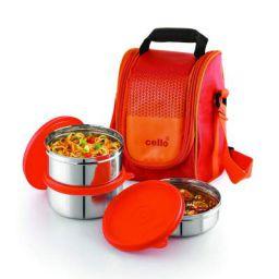 Cello Max Fresh Fresh Matiz Lunch Box 3 Pc