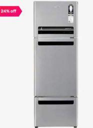 Whirlpool Royal Protton Refrigerator FP 263D Alpha Steel