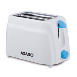 AGARO - 33263 750-Watt 2-Slice Pop-Up Toaster with 6 Toasting Settings & Removable Crumb Tray