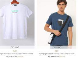 AJIO Clothing Upto 85% Off