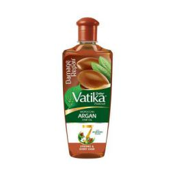 DABUR Vatika Naturals Moroccan Argan Hair Oil with 7 Ayurvedic Herbs  300 ml