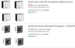Havells Fan Regulator Flat 59% Off