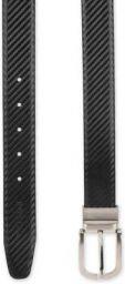 Peter England Men Black Artificial Leather Reversible Belt