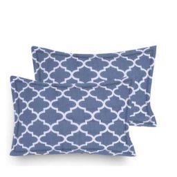 Home Elite Designer Printed 2 Piece Cotton Pillow Cover Set