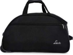 Lavie Sport POLAR Travel Duffel Bag (Black)