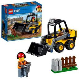 LEGO City Construction Loader Building Blocks for Kids (88 Pcs)60219