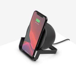 Belkin Wireless Charging Stand + Bluetooth Speaker