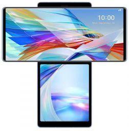 LG Wing (Illusion Sky, 8GB RAM, 128GB Storage)