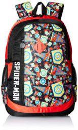 Spiderman Homecoming Black & Red School Bag