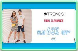 Reliance Trends FLat 63% Off Sale on Ajio