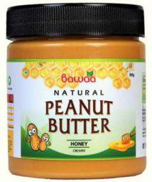 Bawaa Natural Creamy Peanut Butter (Honey) 500 g