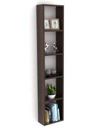 Bluewud Walten Engineered Wood Wall Mount Book Shelf/Display Rack