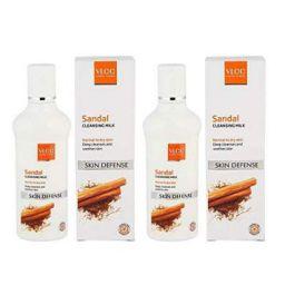 VLCC Natural Sciences Sandal Cleansing Milk - 100ml (Pack Of 2)