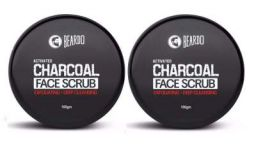 Beardo Charcoal Face Scrub 100gm (Pack of 2)
