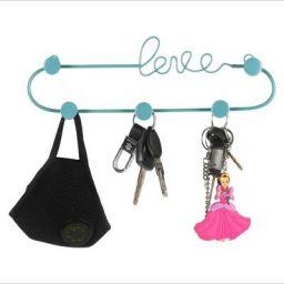 BS AMOR Metal Key Holder Black Color Key Holder for Wall Keychain Hanger - Mint 1