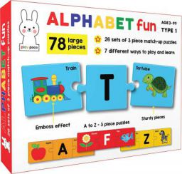 Play Poco Alphabet Fun Type 1 - 78 Piece Alphabet Matching Puzzle