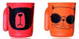Tupperware Drinking Mug - 2 Pieces, Orange Red, 350 ml