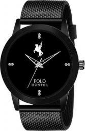 POLO HUNTER 250 Stylish Black Analog Watch - For Boys