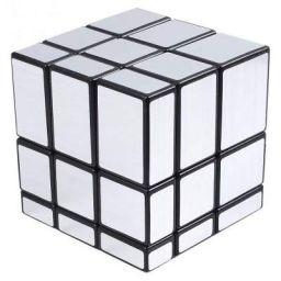 Popsugar 3x3 Silver Mirror Cube, Silver