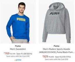 Puma Mens Jacket Upto 75% Off