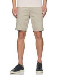 Amazon Brand - House & Shields Men's Regular Cotton Blend Casual Shorts (AW19-HSB-17_Beige_30)