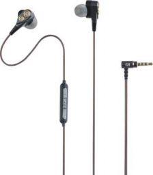[Refurbished - Superb] Gunter & Hanke Bassmax 900 Wired Headset with Mic (Black, Orange, In the Ear)